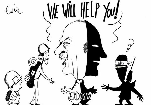 antierdogan cartoon