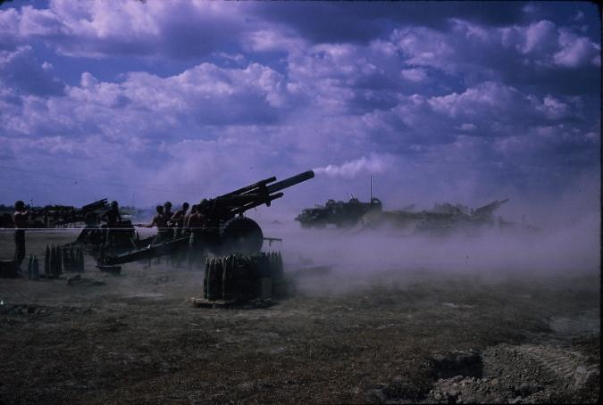 vnfiremission 155 howitzers