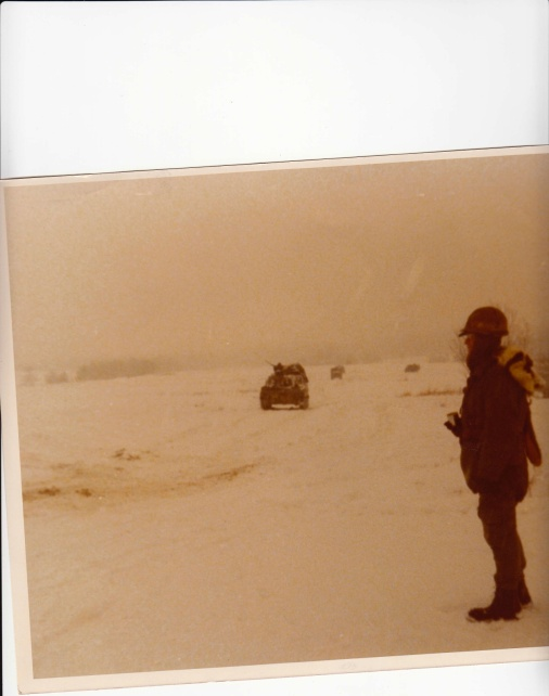 With my artillery battalion 1-16th in Germany