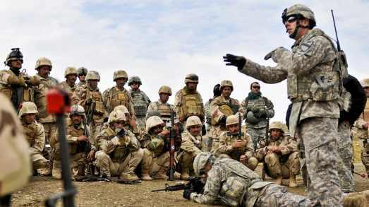 Iraqi training army 2