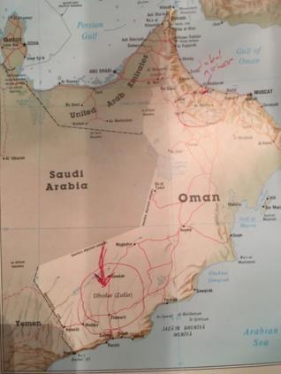 oman map 3