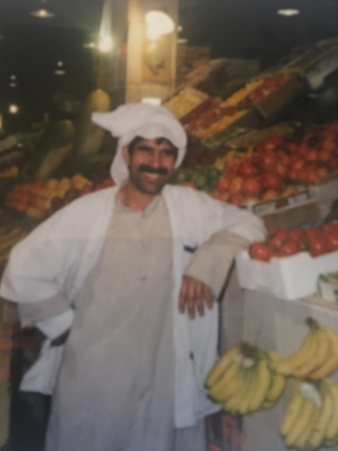 smiling Omani