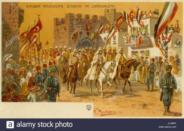 Kaiser into Jeruslaem