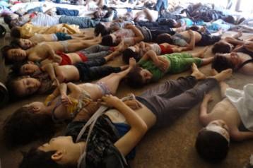 Syria dead children